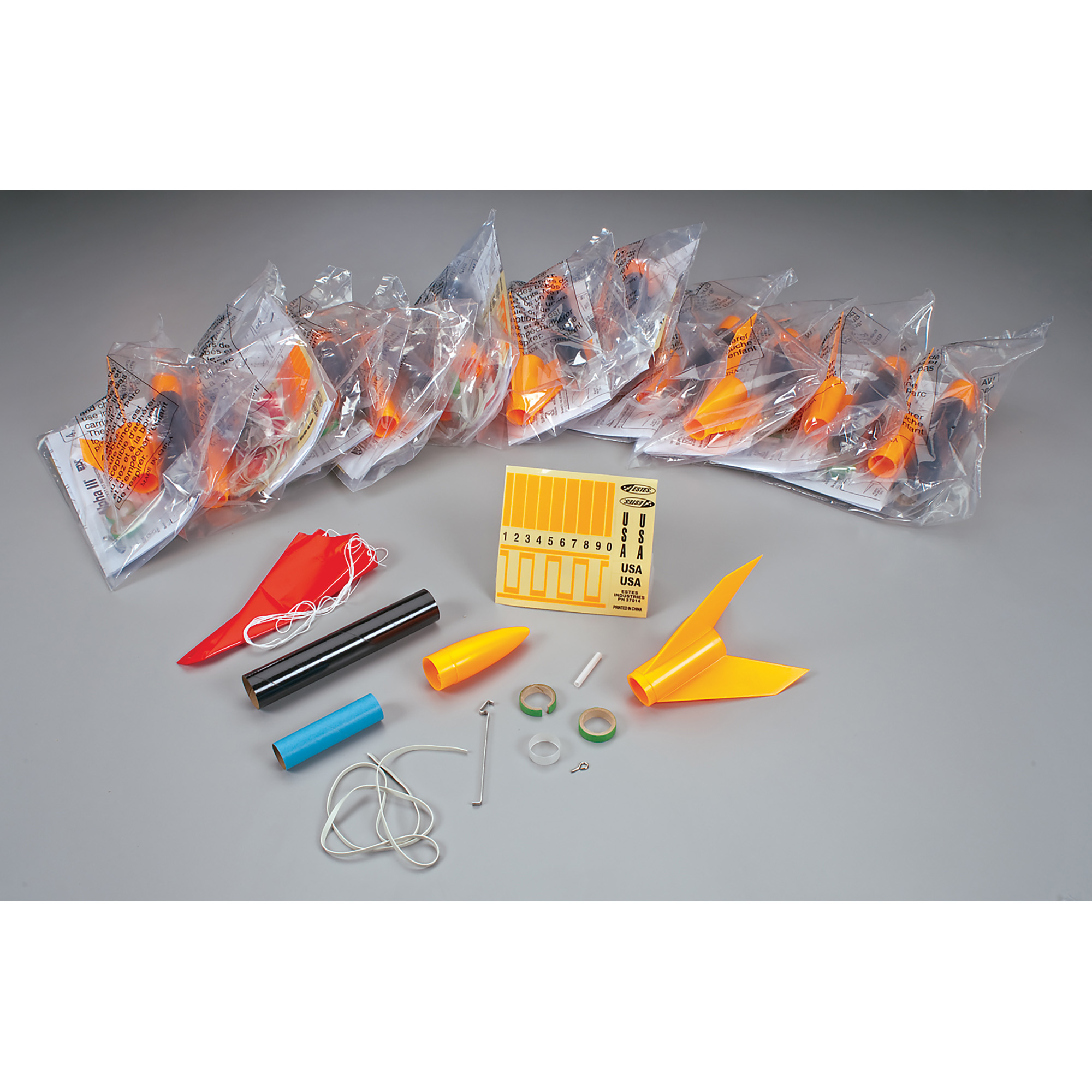 Estes Alpha III Flying Model Rocket Bulk Pack