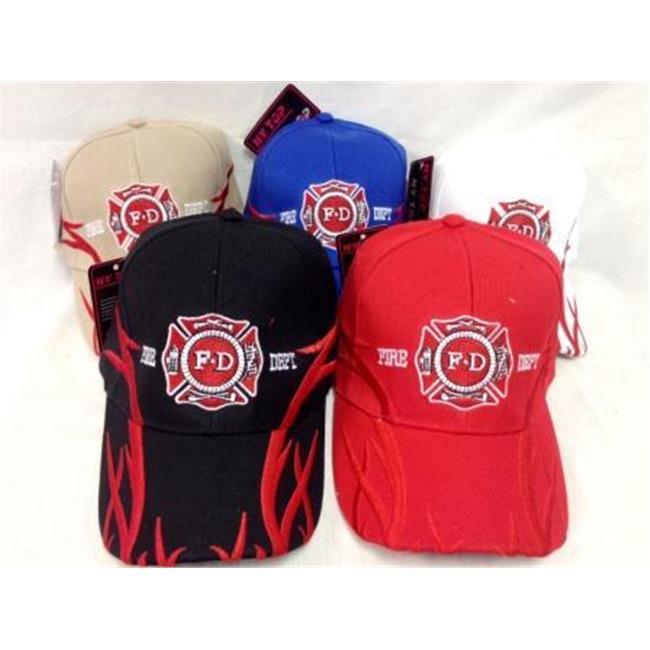 DDI 782360 Fire Department Baseball Hat -Pack of 36