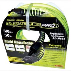 "FLEXZILLA PRO 3/8"" X 50' AIR HOSE WITH 1/4"" MNPT"