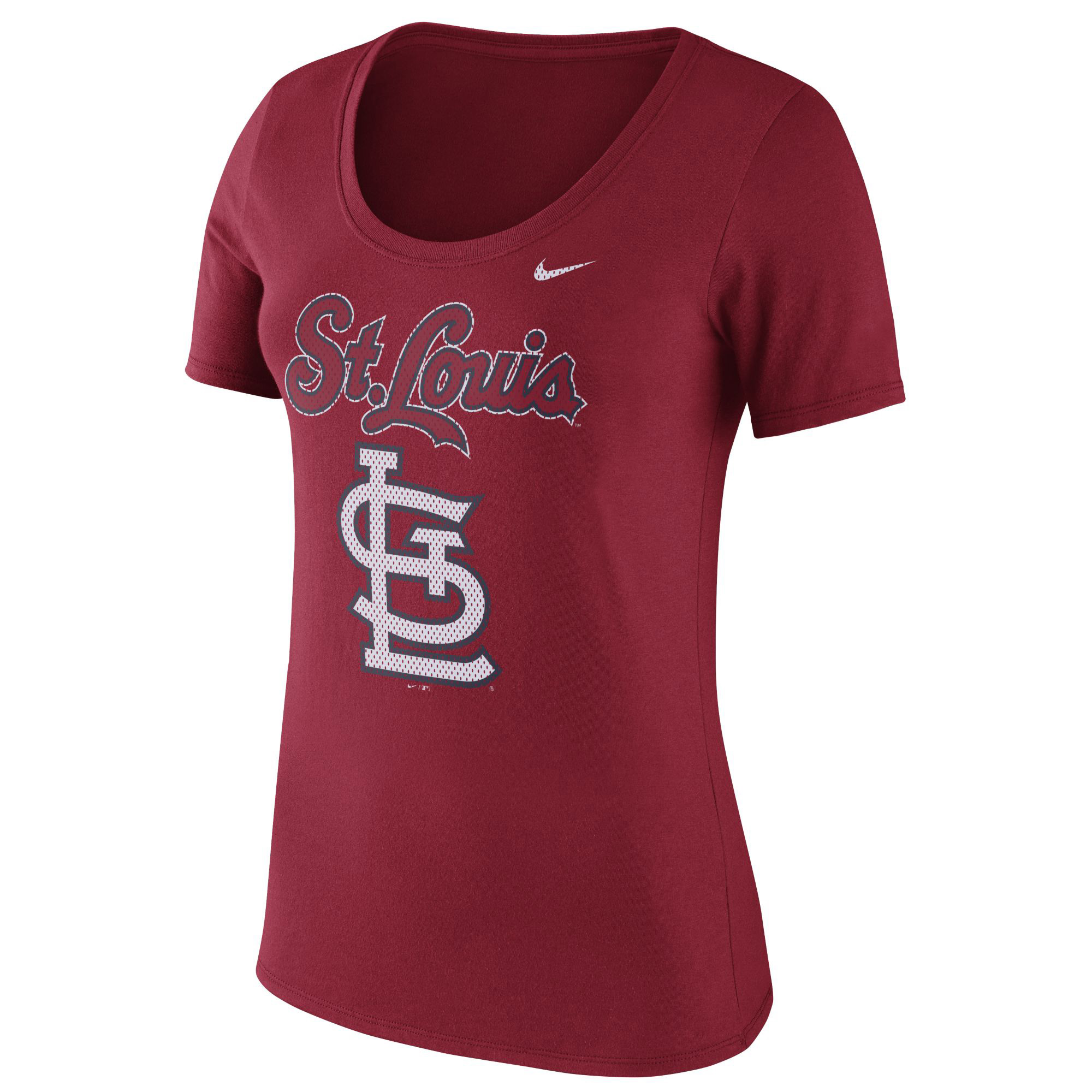 St. Louis Cardinals Nike Women's Core T-Shirt - Red
