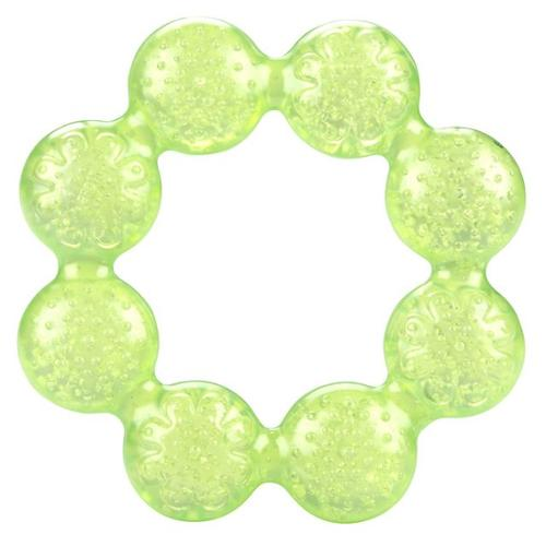 Nuby Pur Ice Bite Soother Ring Teether - Green