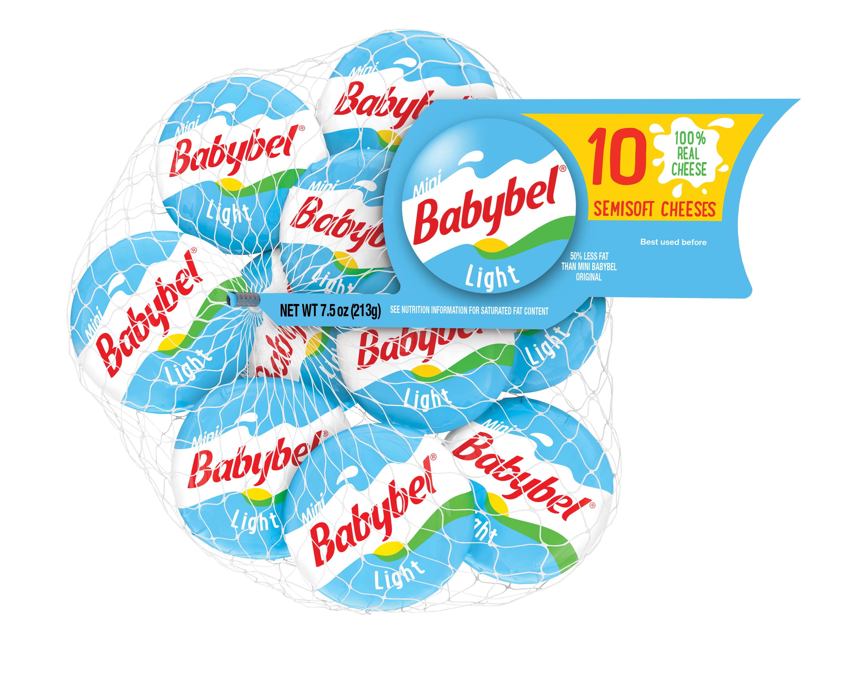 bel brands babybel semisoft cheese 10 ea  walmart