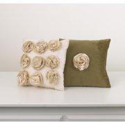 Cotton Tale Designs Lollipops and Roses 2 Piece Decorative Pillow
