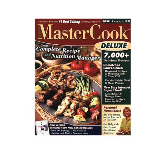 MasterCook Deluxe 8.0 for Windows PC