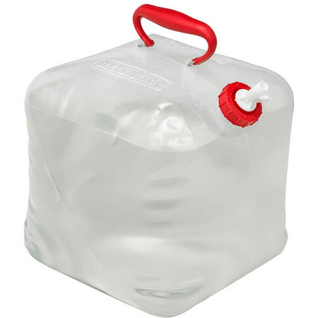 50l Waste Bin - Reliance Fold-A-Carrier Collapsible Water Container, 5 gal