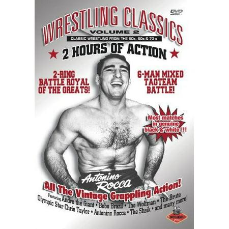 Wrestling Classics: Volume 2 (DVD) (Best Wrestling Move Names)