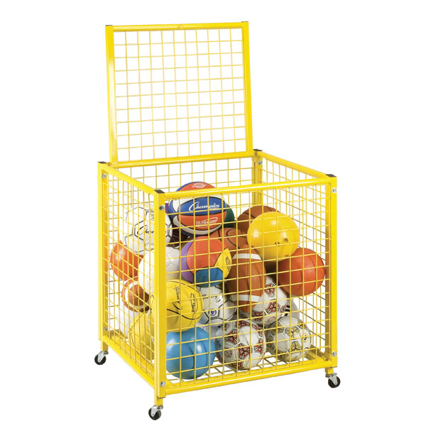 Locking Ball Storage Locker