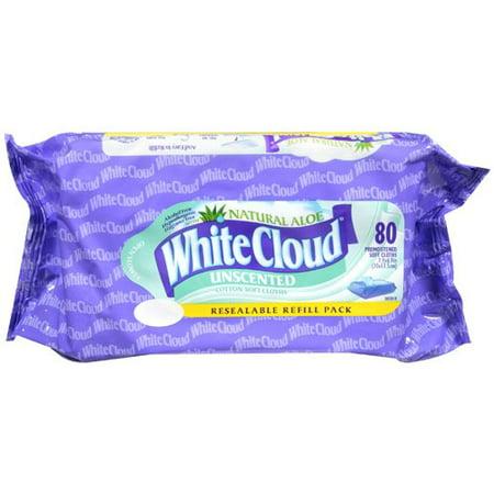 White Cloud Flushable Wipes 80 Ct Walmart Com