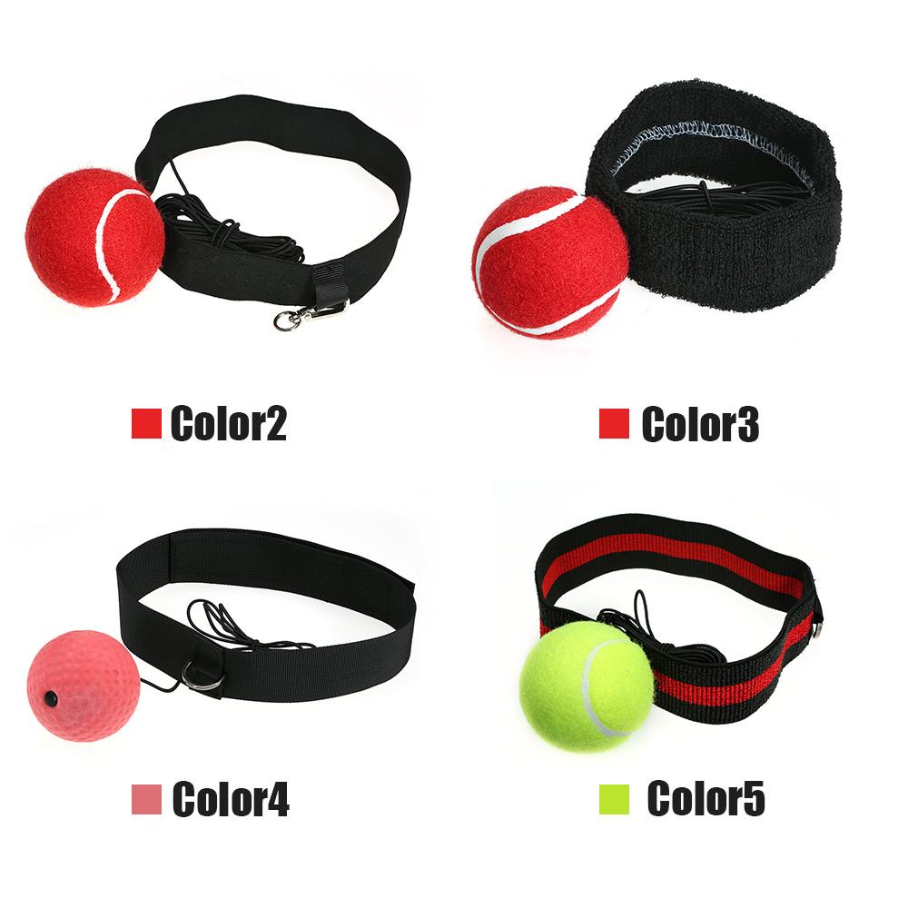 Spring Training Ball Headwear Type Boxing Training Speed Tennis Ball Reflex