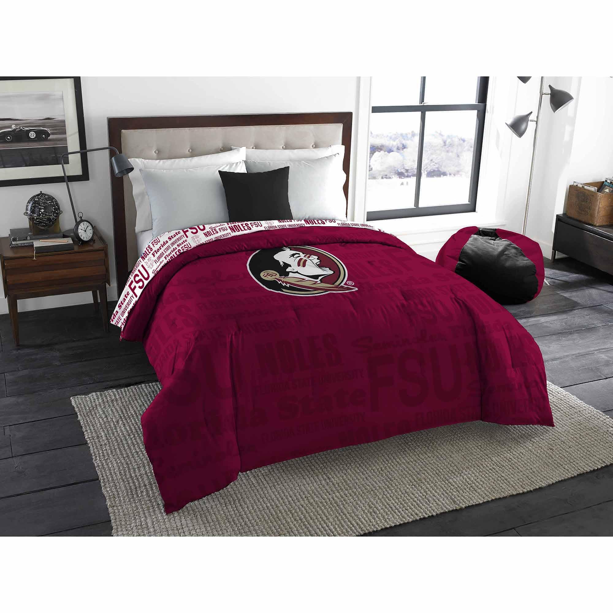 NCAA Florida State Seminoles Twin or Full Bedding Comforter, 1 Each