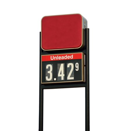 Laminated Poster Oil Price Sign Symbol Gas Station Gas Fuel Poster