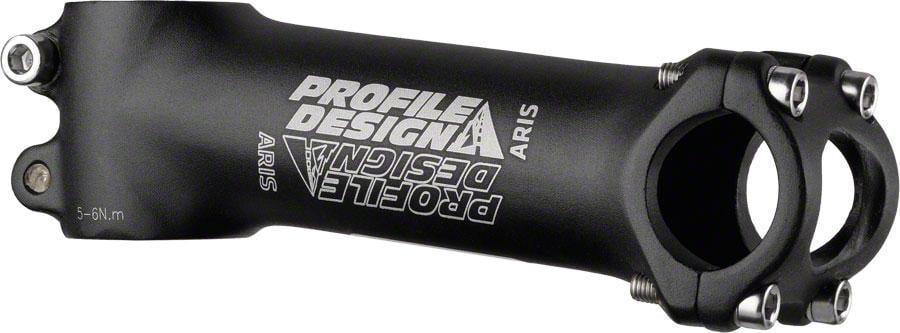 """// 7 degree 1-1//8/"""" 26.0 Black Profile Design Aris Stem 130mm"""