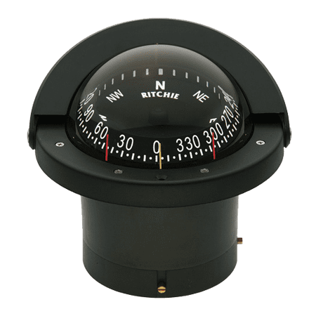 - RITCHIE COMPASSES FN-203 Compass, Flush Mount, 4.5