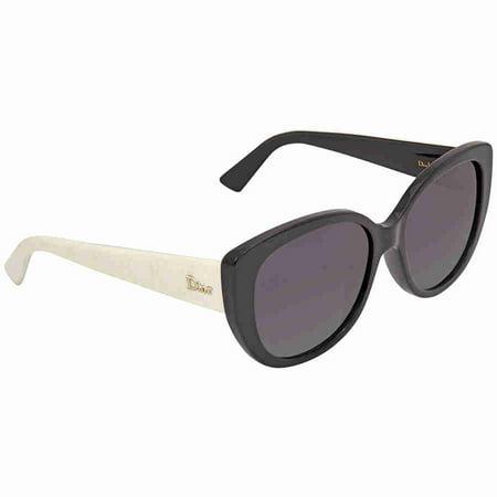 Dior Grey Gradient Cat Eye Sunglasses DIORLADY1NS 09HT ()