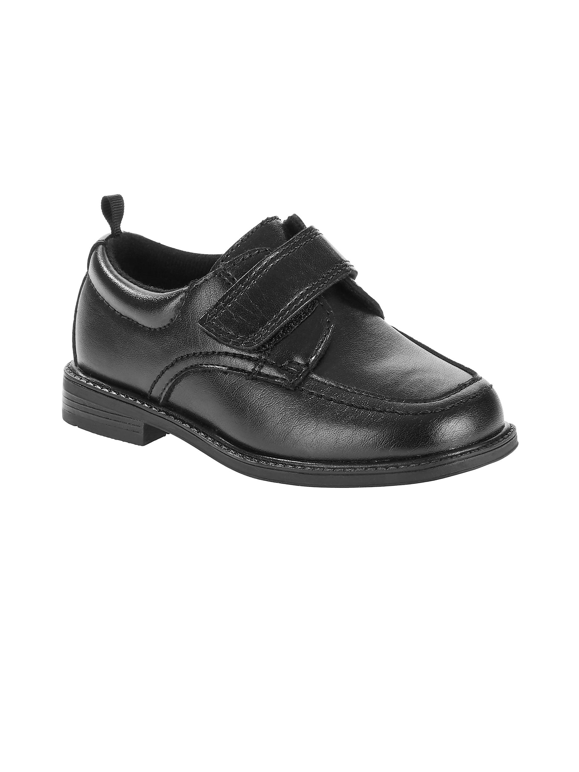 Wonder Nation Boys' Strap Closure Dress Shoe