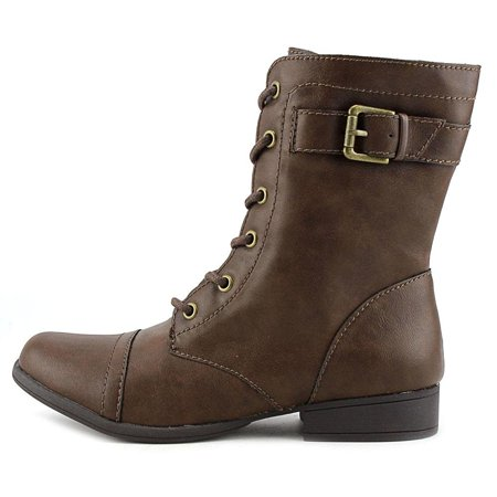 Womens Afaylln Cap Toe Mid-Calf Fashion Boots