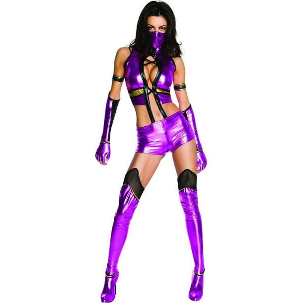 Mortal Kombat Sexy Mileena Costume Adult X Small Walmart Com
