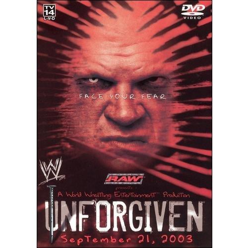 WWE - Unforgiven (2003) [DVD]