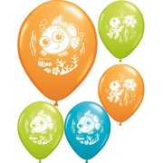 """Set of 6 Disney Finding Nemo 12"""" Assorted Color Balloons"""