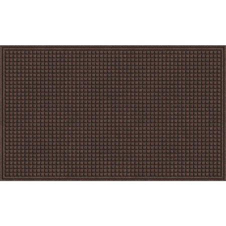 Apache Mills 36x48 Text Square Walnut Mat 880-4733R