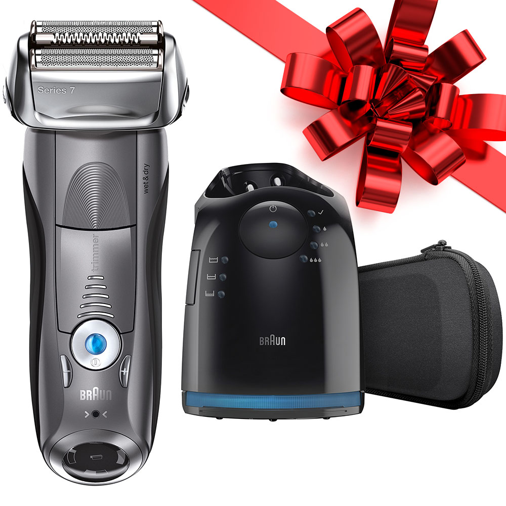 Braun Series 7 790cc-4 ($30 Rebate Available) Foil Electric Shaver with Clean & Charge Station