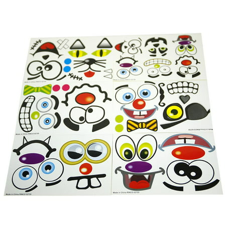 Jack O Lantern Face Stickers - Recollections Halloween Stickers