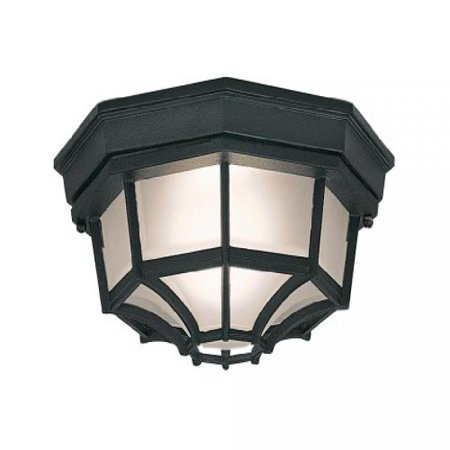 Designers Fountain 2067-BK Value Collection Ceiling Lights, (Contemporary Ceiling Collection)