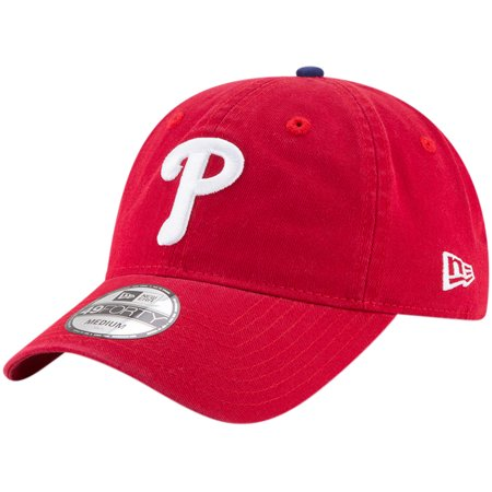 Philadelphia Phillies New Era Core Fit Replica 49FORTY Fitted Hat - Red