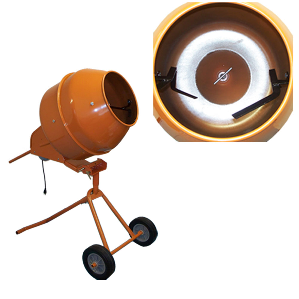 5 Cubic Ft. Tall Portable Cement Mixer Concrete Mixer by PROLINEMAX