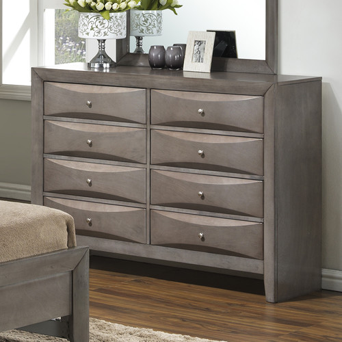 Glory Furniture Gemini 8 Drawer Dresser