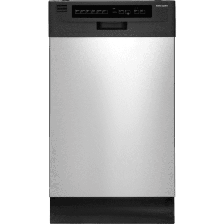 Ffbd1821ms 18  Full Console Built In Dishwasher With 6 Wash Cycles  Stainless Steel Interior  High Temperature Wash  Ready Select Controls  Energy Star Dry Option And Multiple Cycle Options In Stainle