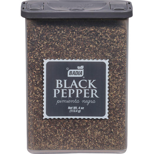 Badia Black Pepper, 4 oz