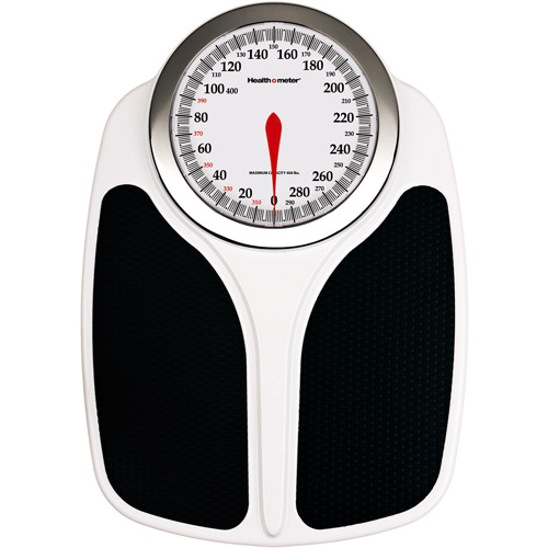 Health o meter Oversized Professional Dial Scale with Textured Split-Mat Design, 145KD-41