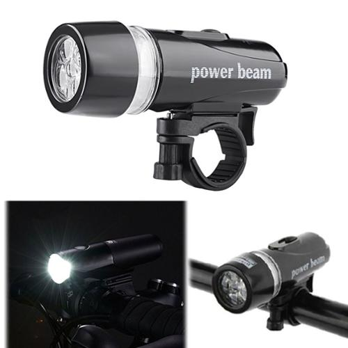 Insten Bike Bicycle Cycling LED Front Head Light Lamp Headlight Torch Larm With Mount