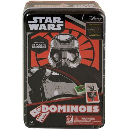 Star Wars Episode 7 The Force Awakens Dominoes Game - 28 Pack Plastic