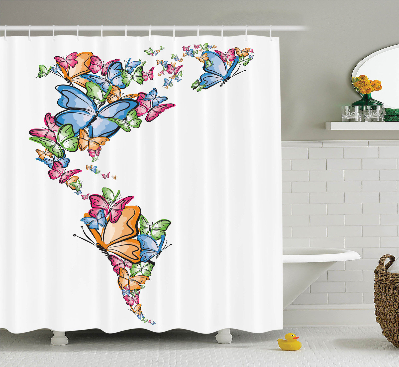 Wanderlust Decor  North And South America World Map Silho...
