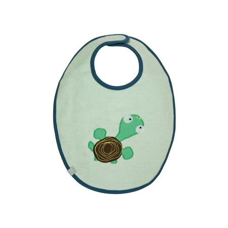 Waterproof Medium Bib Wildlife Turtle 6 24 Mo