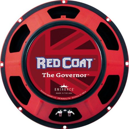 Eminence Red Coat The Governor 16 Speaker - 75 W RMS - 70 Hz to ...