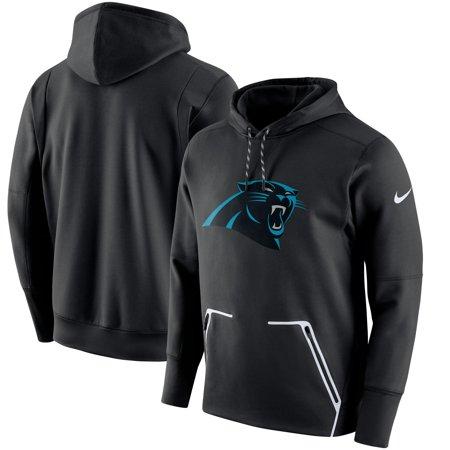 Carolina Panthers Nike Champ Drive Vapor Speed Performance Pullover Hoodie - Black ()