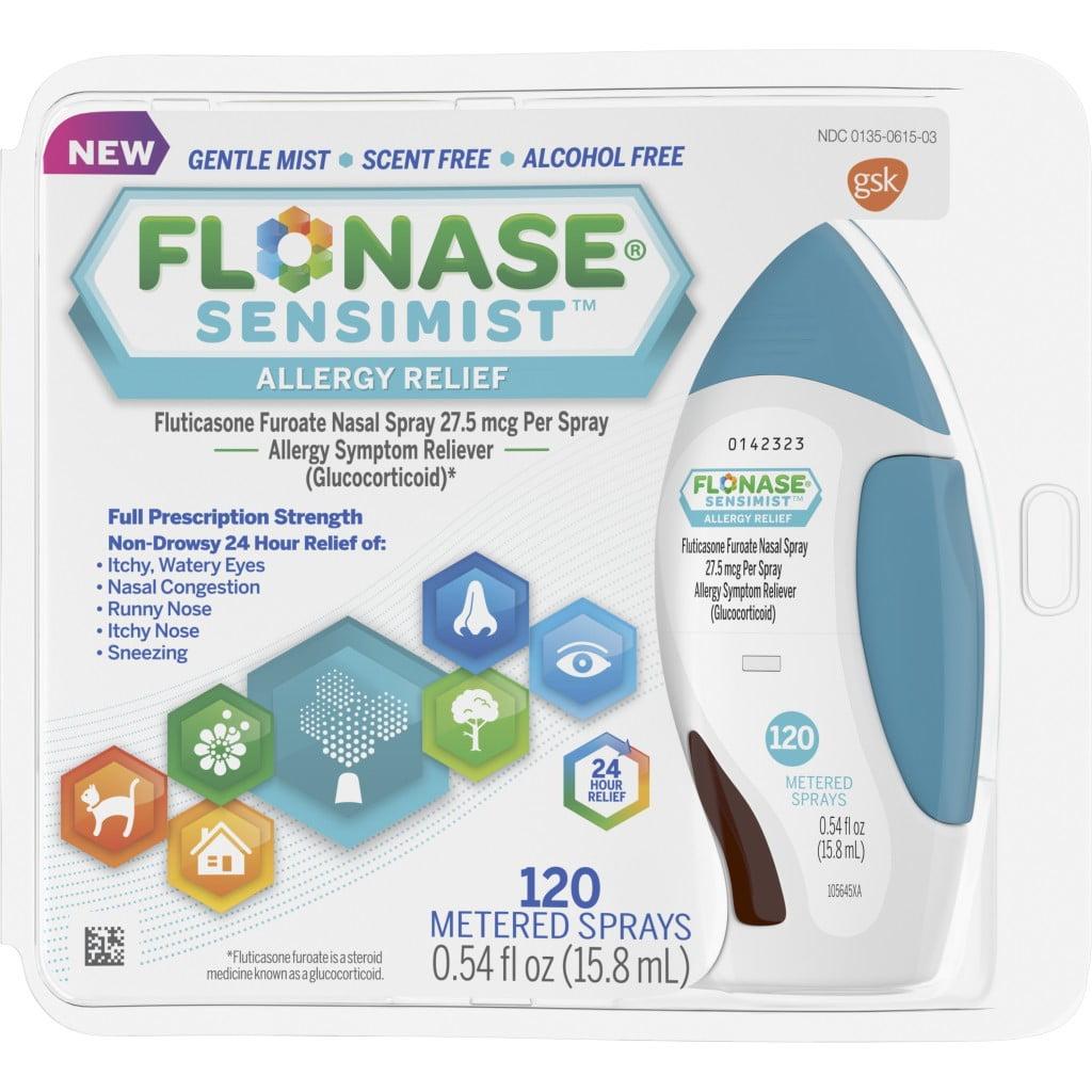 Flonase Sensimist Allergy Relief Spray, 120 Metered Sprays