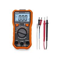 Vici Mini Multi-functional Handheld LCD Digital NCV True RMS Multimeter DC/AC Voltage Current Meter Temperature Resistance Diode Tester