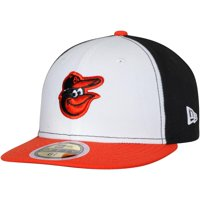 Baltimore Orioles New Era Youth Authentic Collection On-Field Home 59FIFTY Fitted Hat - White/Orange