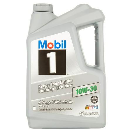 Mobil 1 10W 30 Full Synthetic Motor Oil  5 Qt