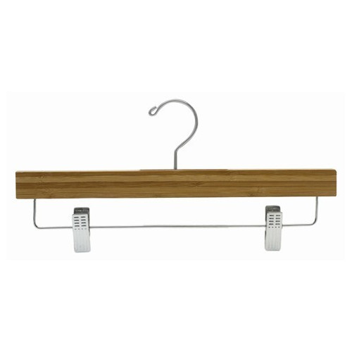 Only Hangers Inc. Bamboo Pant/Skirt Hanger with Clips (Se...