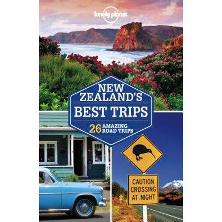 Lonely planet new zealand's best trips - paperback: