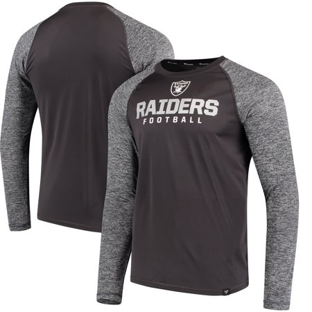 Oakland Raiders NFL Pro Line by Fanatics Branded Static Synthetic Long Sleeve T-Shirt -