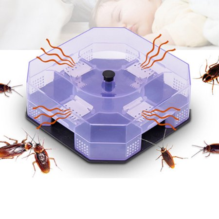 New Cockroach House Roacher Insects Bugs Capture Bait Trap Killer Catcher Bo