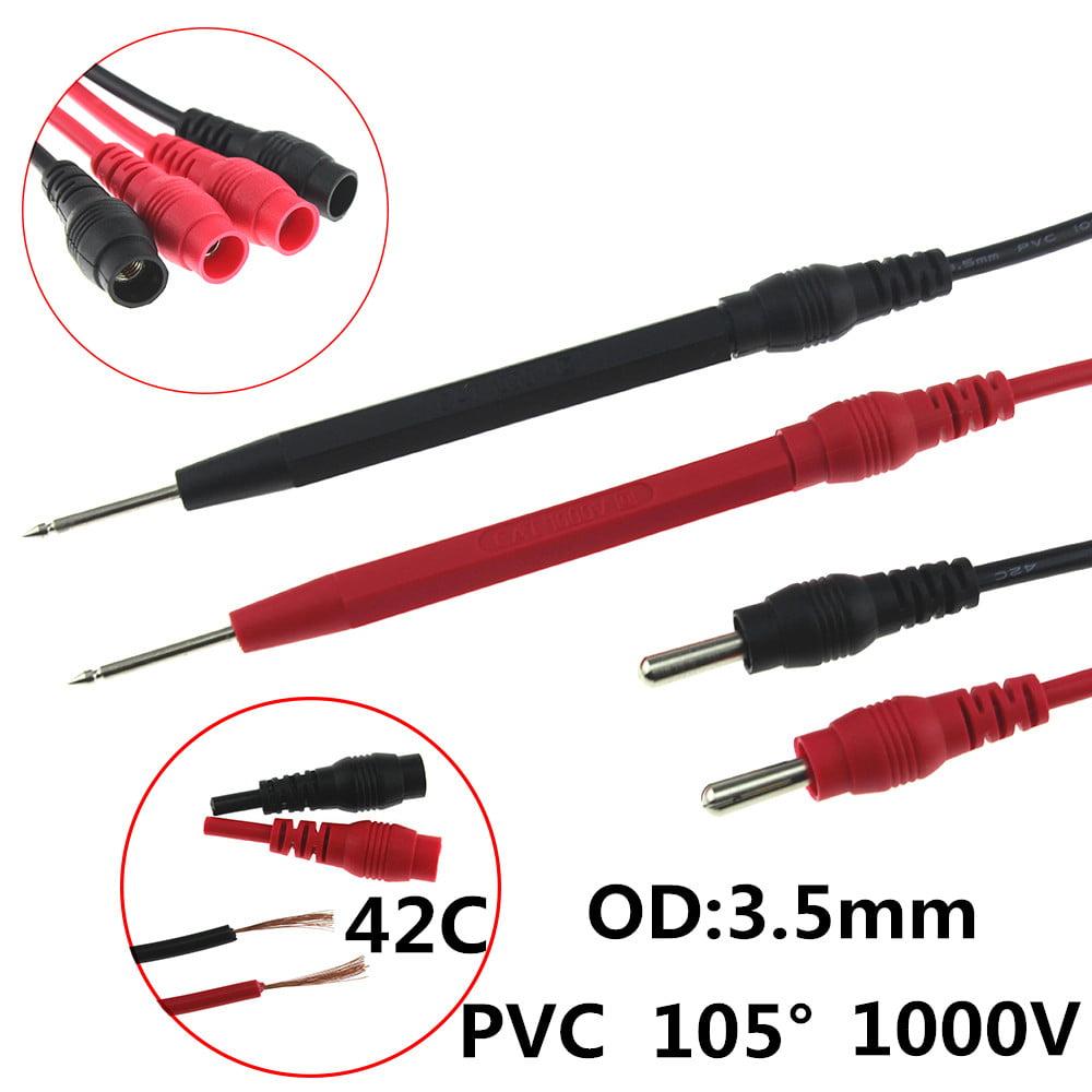 Hight Quality 16pcs Kit Universal Multifunction Digital Test Lead Multimeter Probe Cable Set