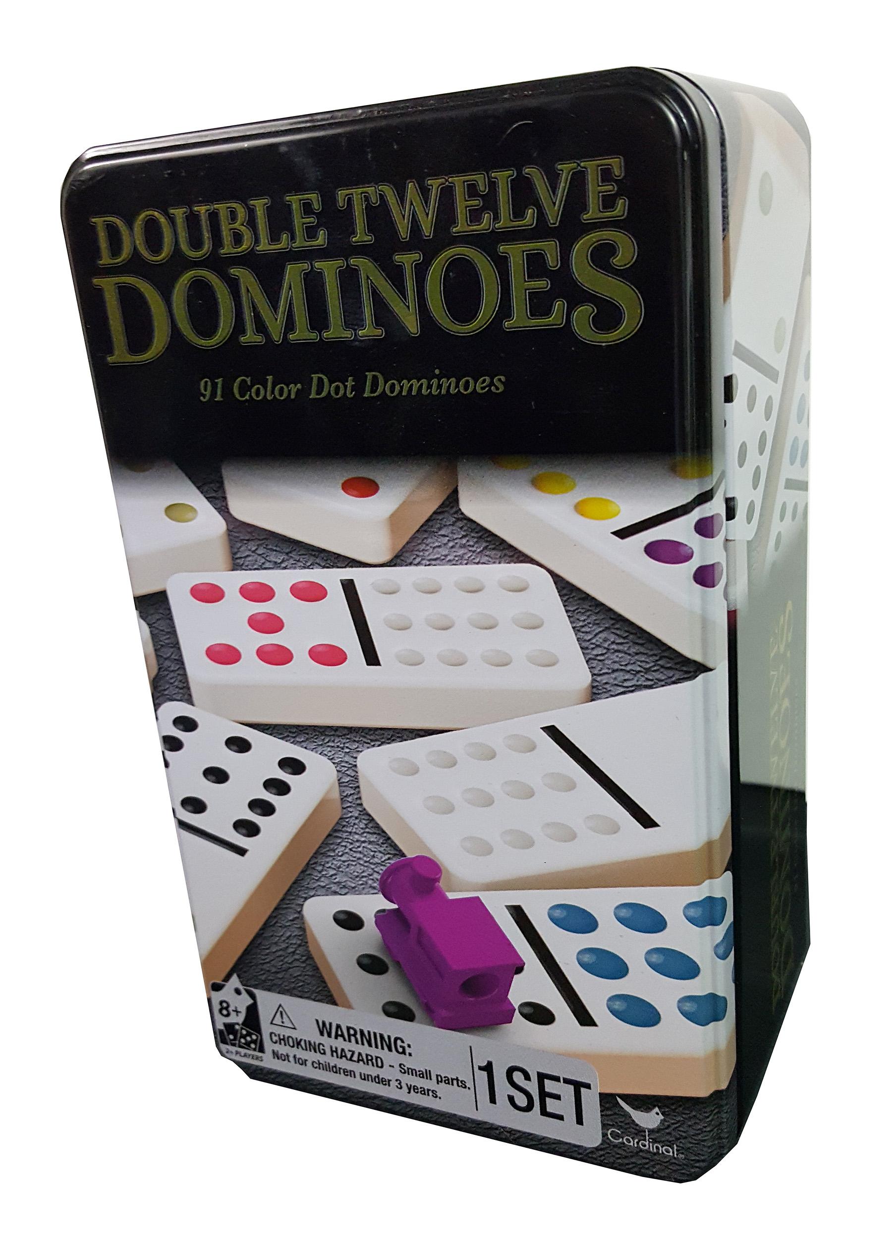 Double Twelve Classic Dominoes professional Set of 91