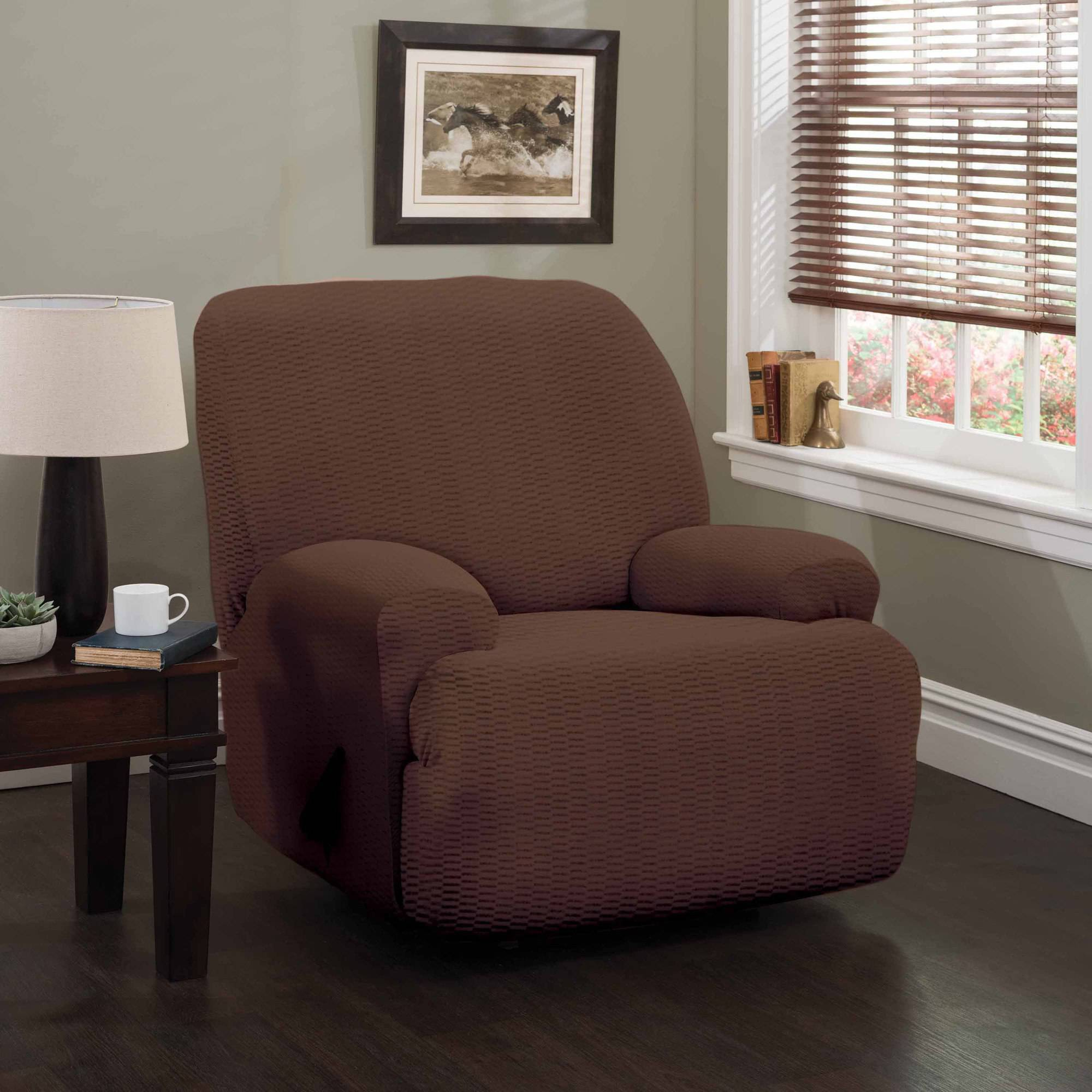 pique medium lift stretch slipcover fit recliner walmart sure com slipcovers recliners for ip